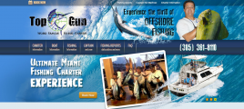 TopGunFishing Website